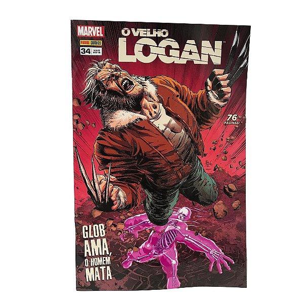 O Velho Logan: Glob Ama, o Homem Mata - Edição 34