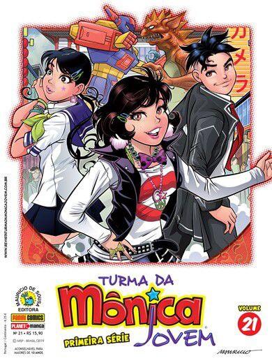 Turma da Mônica Jovem : Primeira Série - Volume  47 e 48