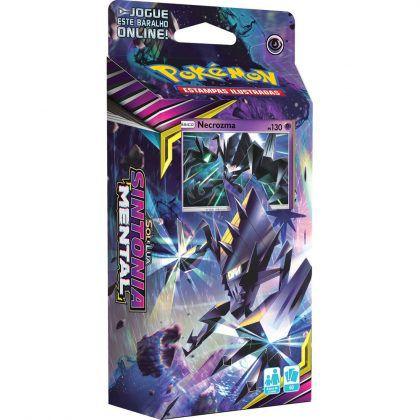 Starter Deck Pokémon Laser Focal Sol e Lua 11 Sintonia Mental