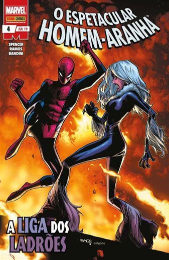 O Espetacular Homem Aranha - A Liga dos Ladrões - 4