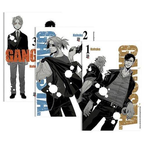 Coleção Gangsta - Edição 1 ao 3