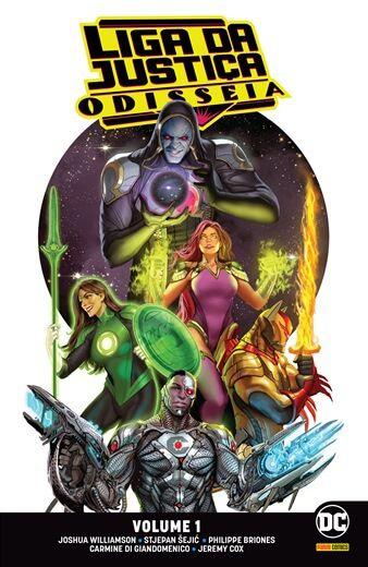Liga da Justiça: Odisseia - Volume 1