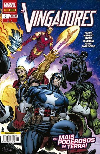 Os Vingadores: Os mais Poderosos da Terra - Volume 6