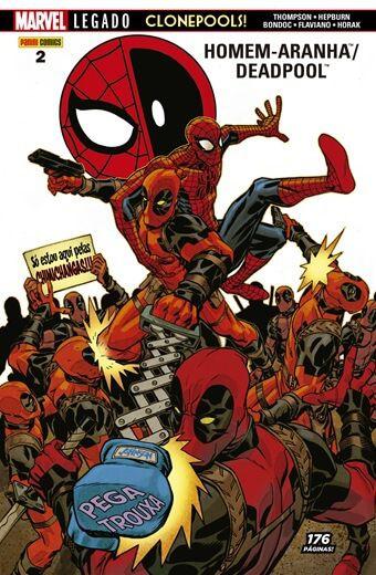 Homem-Aranha / Deadpool : ClonePools - Volume 2