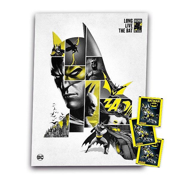 Álbum Batman Ilustrado Capa Dura + 12 envelopes