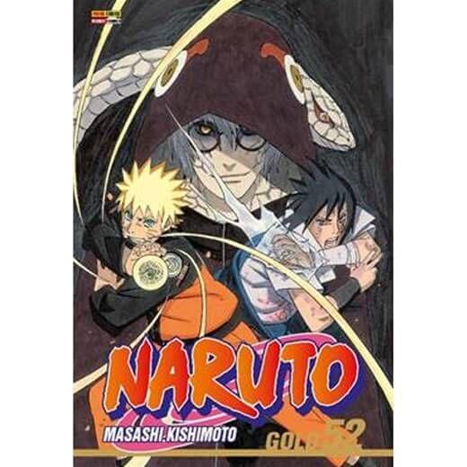 Naruto Gold -  Edição 52