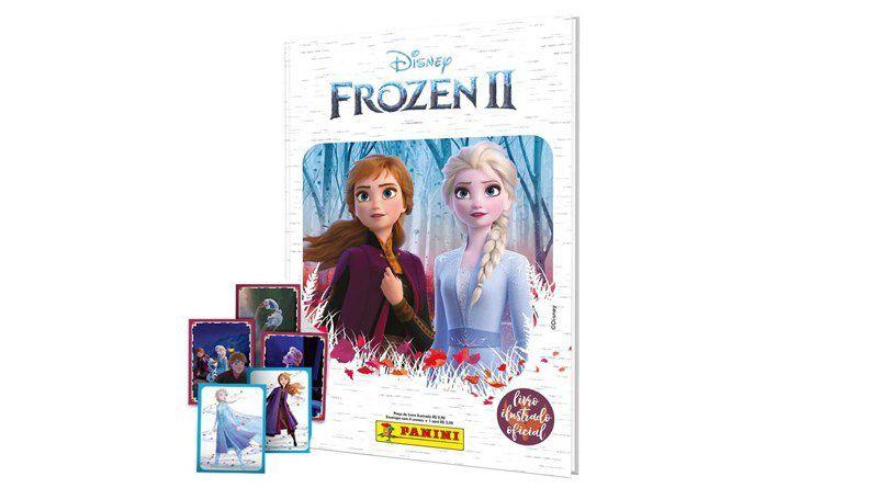 Albúm Disney Frozen II :  Capa Dura + 12 envelopes