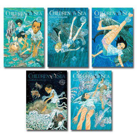 Box Children of the Sea - Edição 1 ao 5