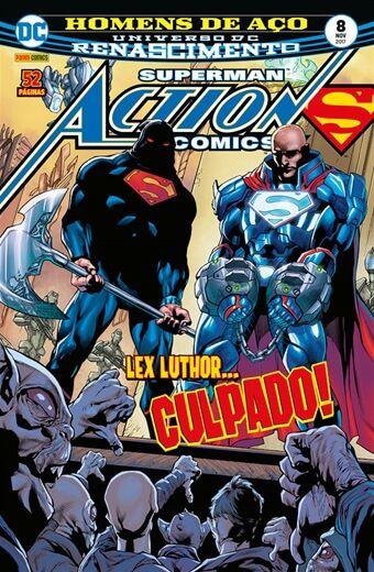 Action Comics: Renascimento - Edição 8