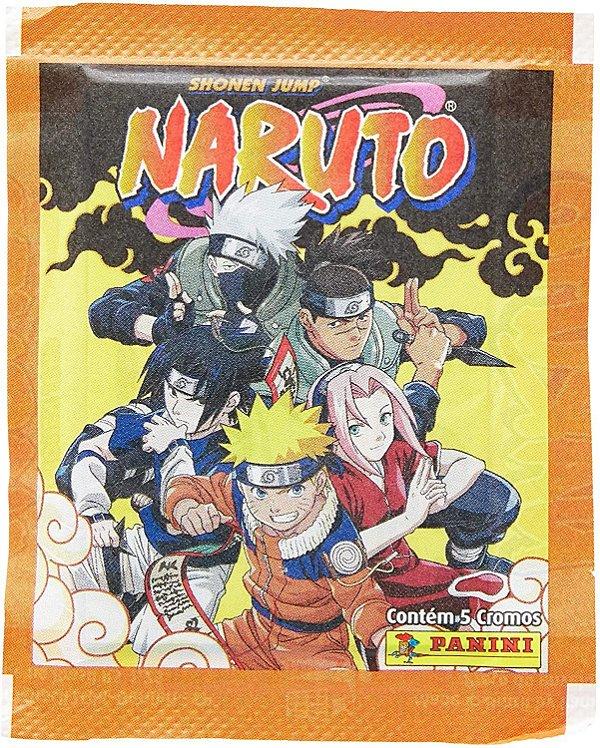 Figurinhas Naruto - Panini