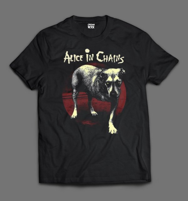 Camiseta - Alice in Chains - Alice in Chains.