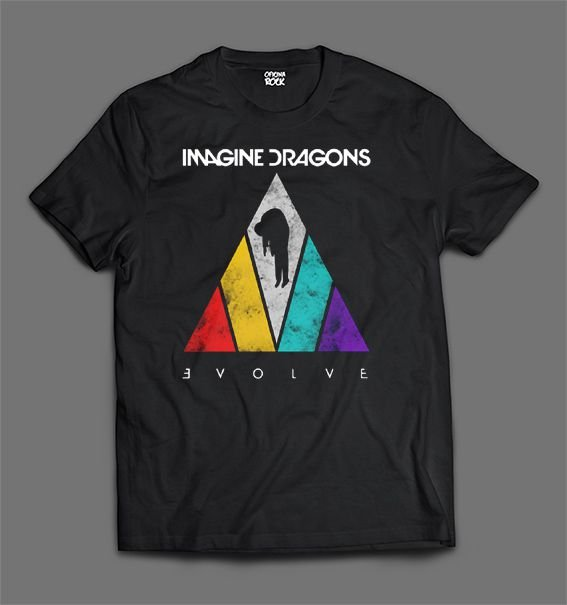 Camiseta - Imagine Dragons - Evolve