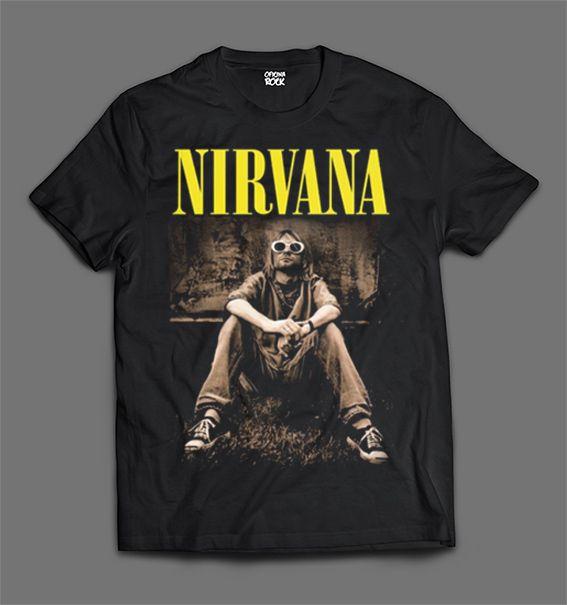 Camiseta - Kurt Cobain.