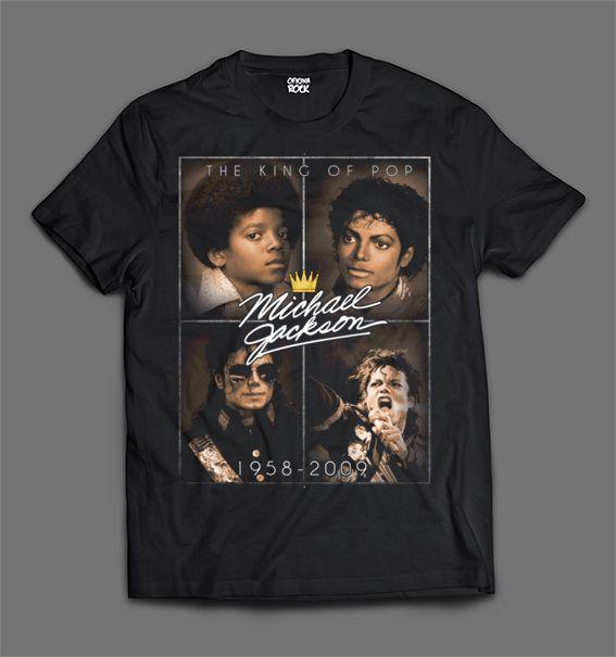 Camiseta - Michael Jackson - Fotos.
