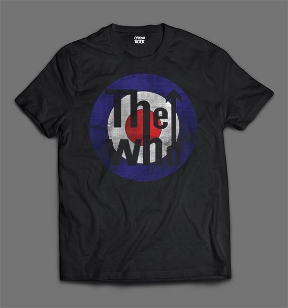 Camiseta The Who - Logo