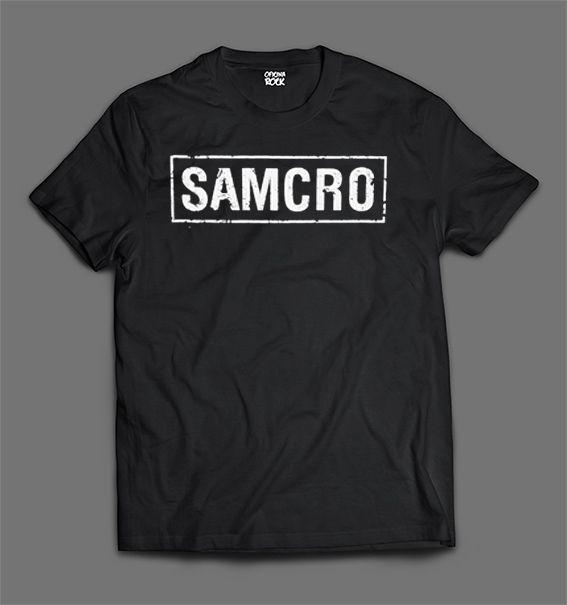 Camiseta - Sons of Anarchy - Samcro