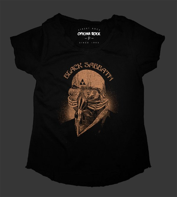 Camiseta - Bata Feminina - Black Sabbath Tour