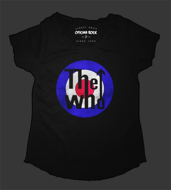 Camiseta - Bata Feminina - The Who