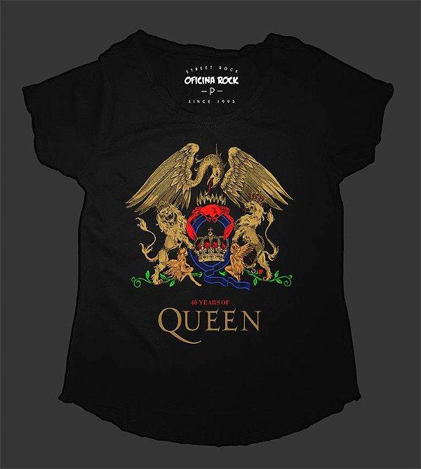 Camiseta - Bata Feminina - Queen