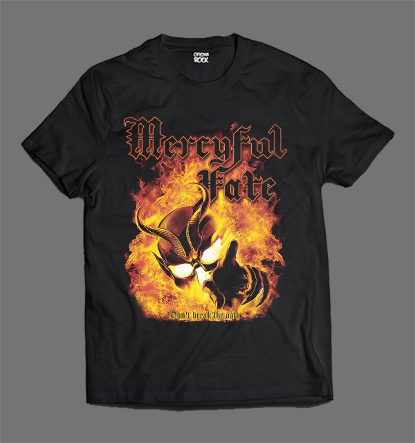 Camiseta - Mercyful Fate Don't Break the Oath-