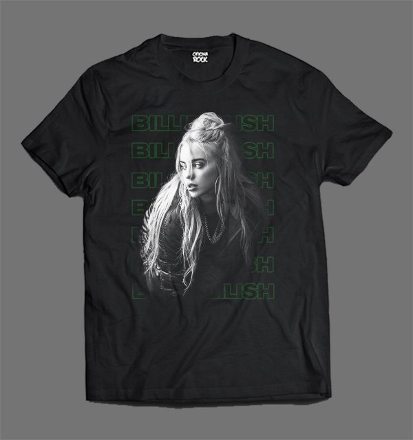 Camiseta - Billie Eilish