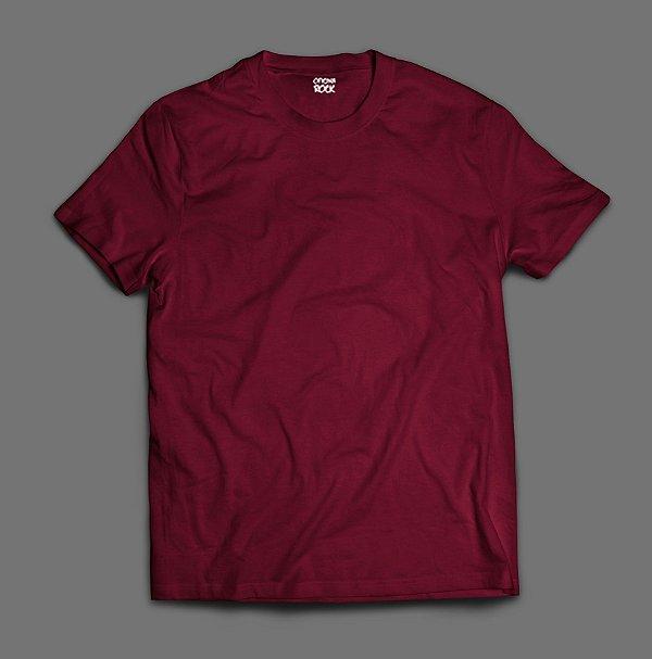 Camiseta Lisa -  Bordo/Vinho