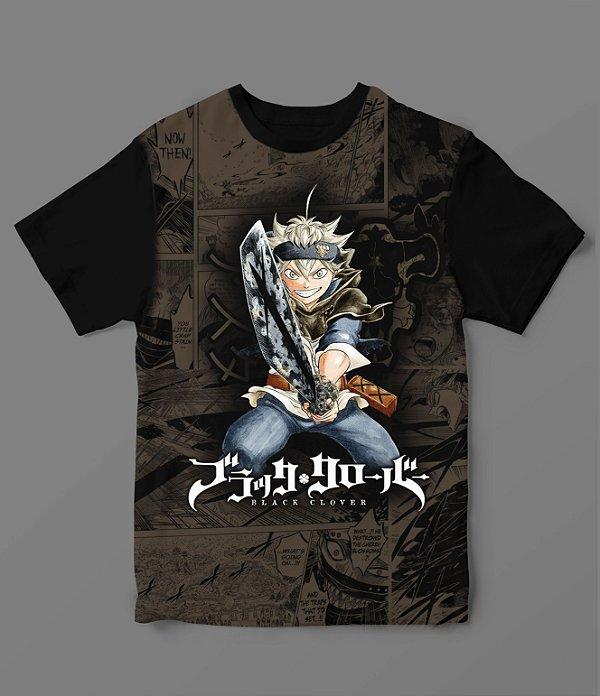 Camiseta - Black Clover - Asta