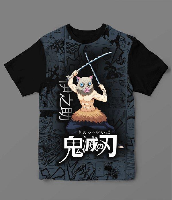 Camiseta - Demon Slayer - Inosuke