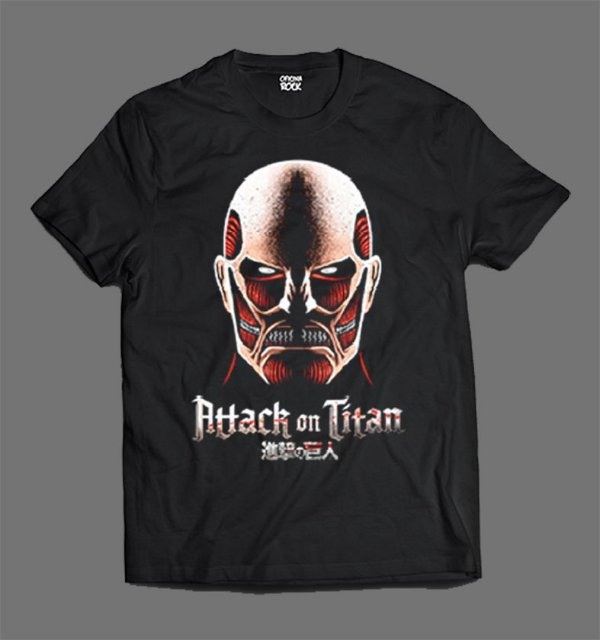 Camiseta - Shingeki no Kyojin - Attack on Titan