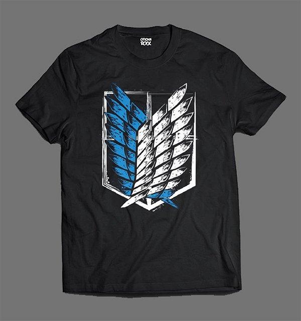 Camiseta - Shingeki no Kyojin - Shield
