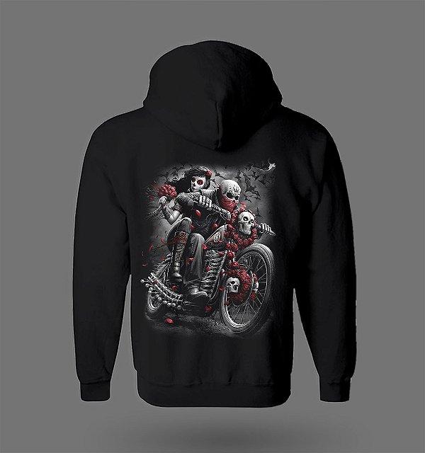 Moletom - Motorcycle Skull
