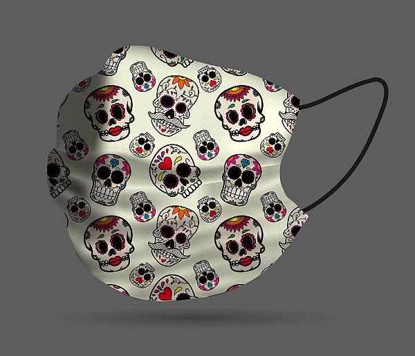 Máscara de Proteção - Caveira Mexicana