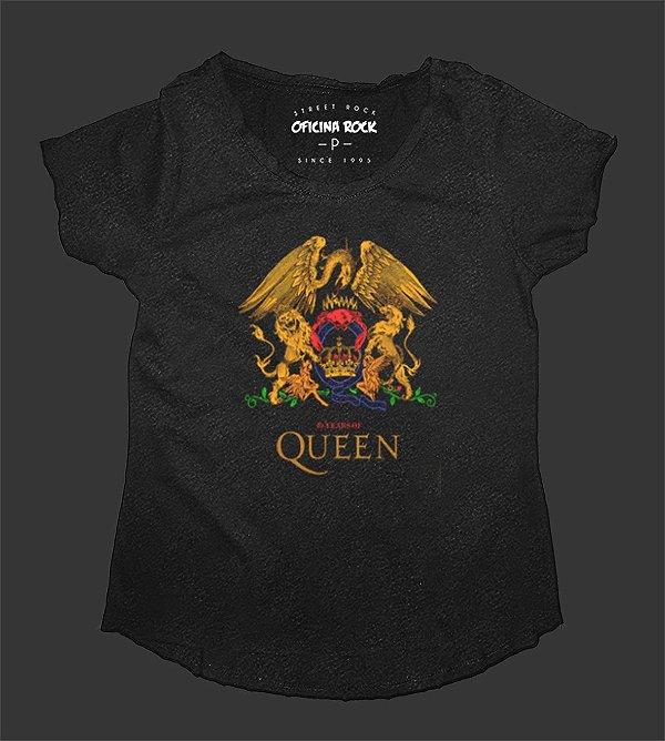 Camiseta - Bata Feminina Especial - Queen 40 Years