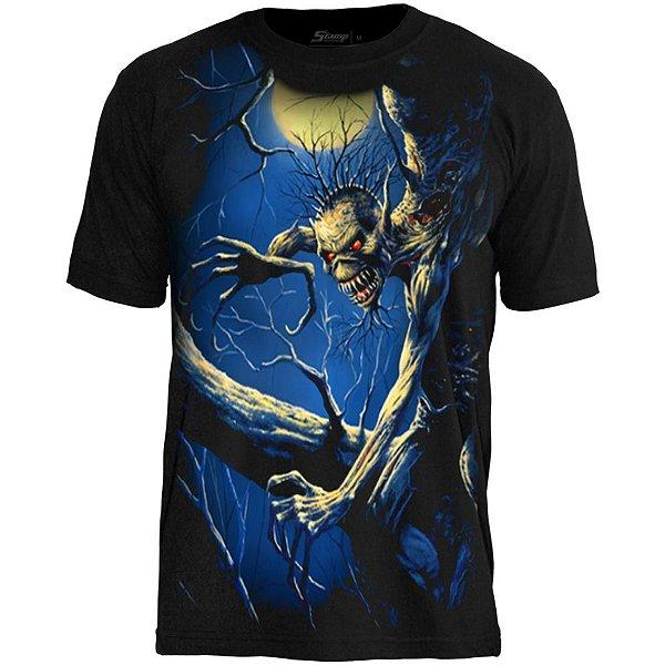 Camiseta Oficial - Iron Maiden - Premium - Fear of The Dark