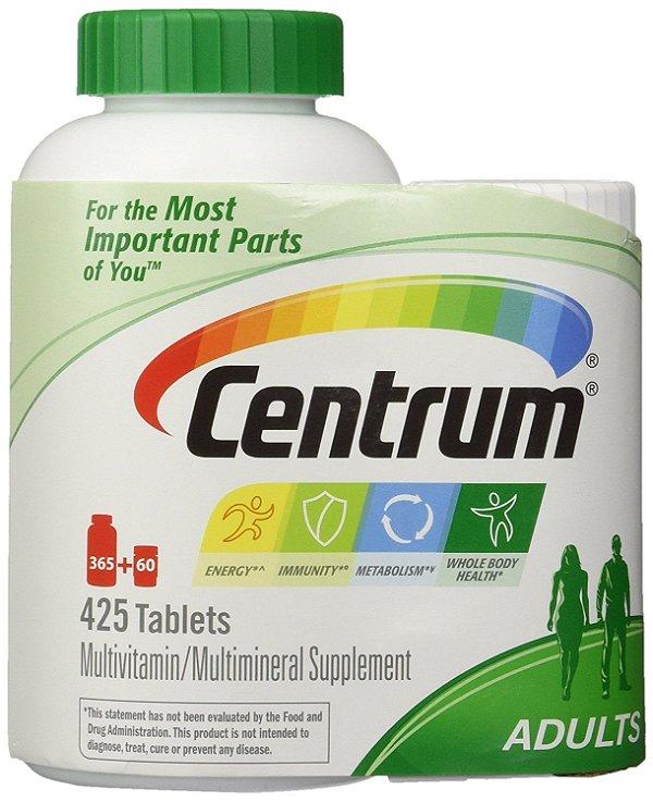 Multivitamínico Centrum 425 Tablets