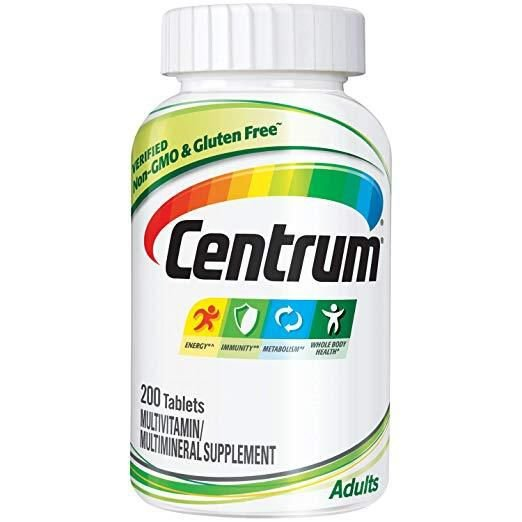 Multivitamínico Centrum 200 Tablets