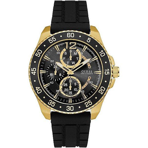 Relógio Masculino Guess W0798G3 Pulseira silicone