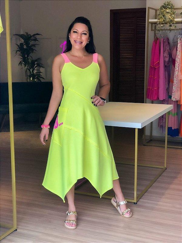 Vestido Moletinho Lima
