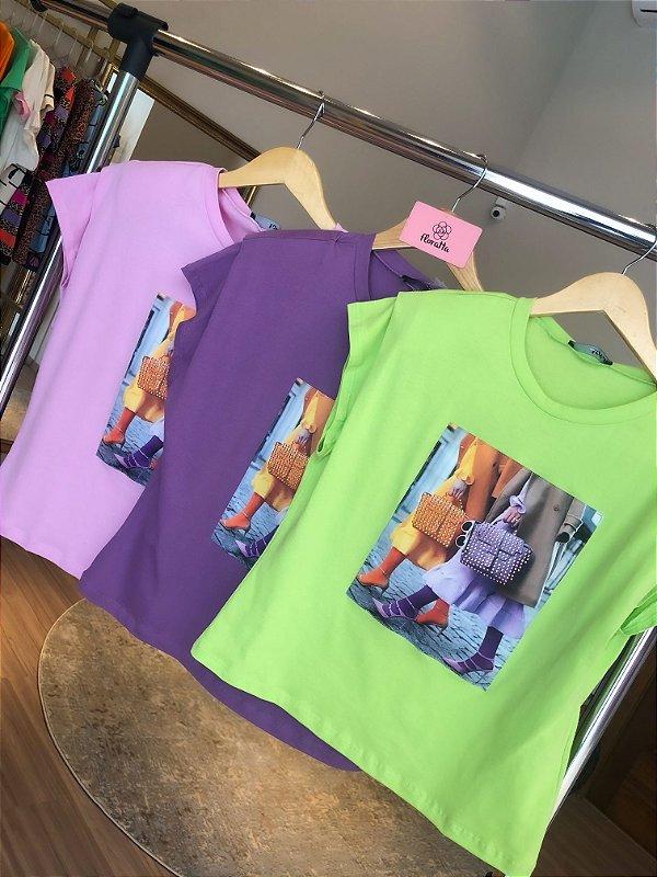 T-shirt Bordada Lovit
