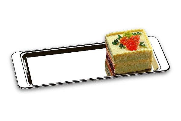 Bandeja para Torta Fria/Rocambole - Atina 40 x 16 cm - Brinox