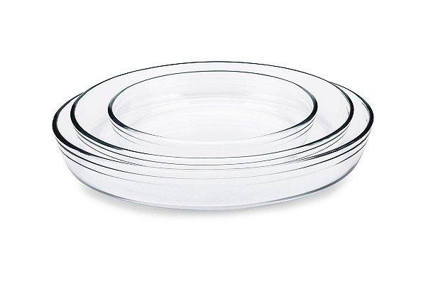 Assadeira Oval Cheff 1,6L Brinox 1,6L 26X18X6CM - Brinox