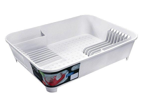 Escorredor de Louças Basic 45 x 35 x 10,5 cm - Branco Coza