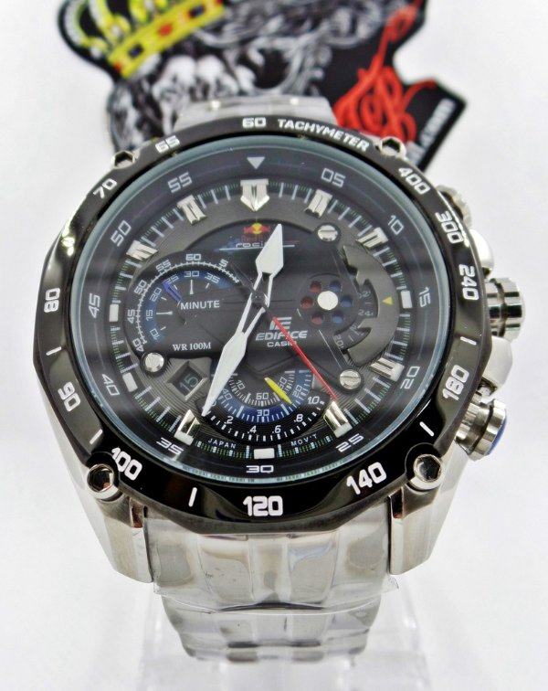 86c06cac0d5 relógio casio edifice ef-550rbsp red bull original - THE TOP BRASIL ♚
