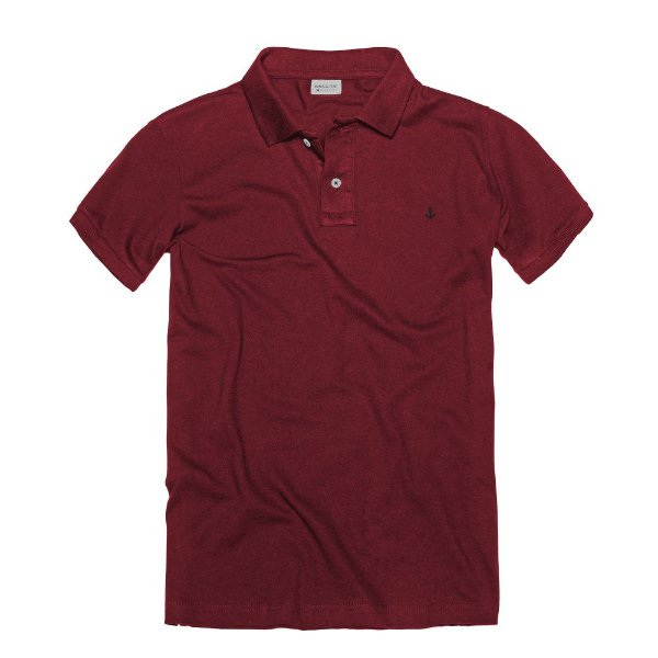 CAMISETA KING & JOE POLO LISA VINHO