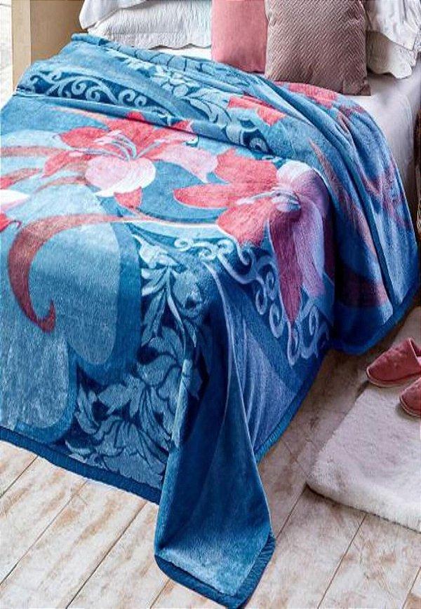 Cobertor Casal Raschel Plus Danubio Aveludado Jolitex
