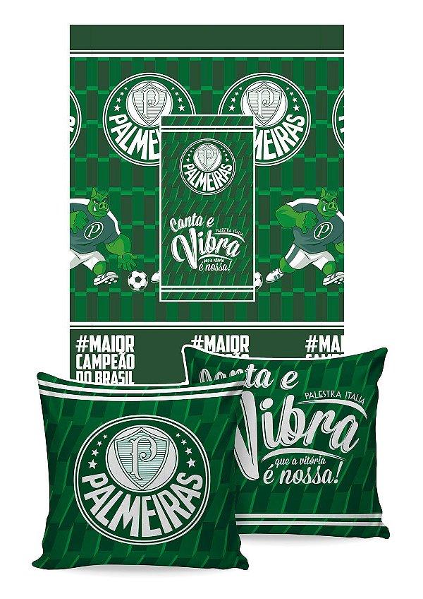 Manta Almofada Palmeiras Jolitex