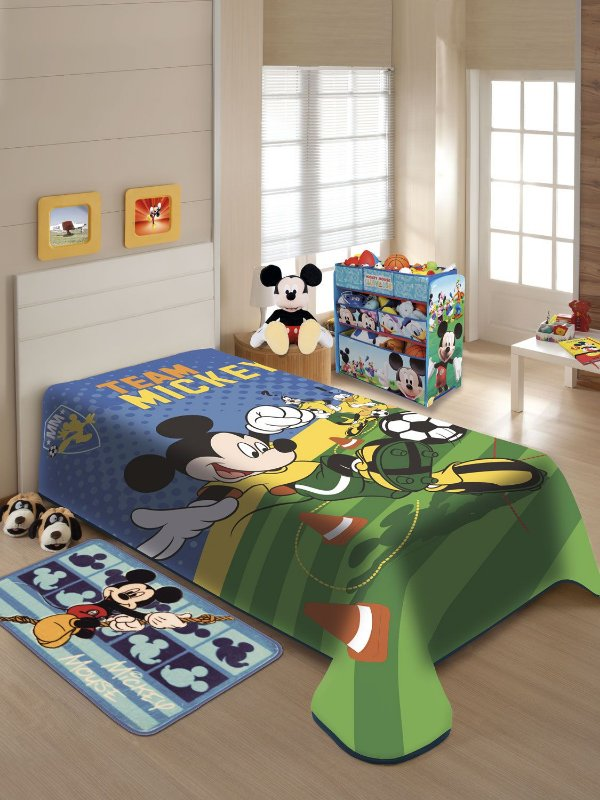 Cobertor Solteiro Mickey Jolitex 1,50x2,00