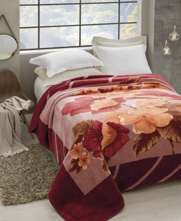Cobertor Casal Raschel Esperance Jolitex 1,80x2,20