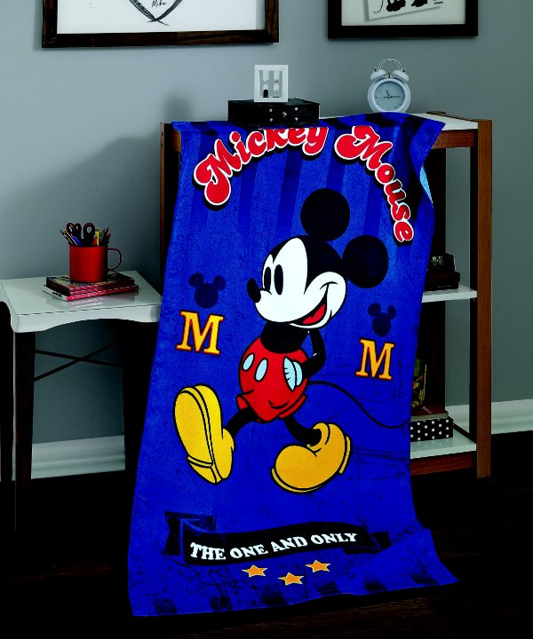 Toalha Banho Mickey 03 Aveludada Dohler
