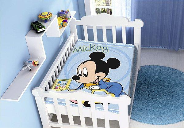 Cobertor Infantil Disney Mickey Diversão Jolitex